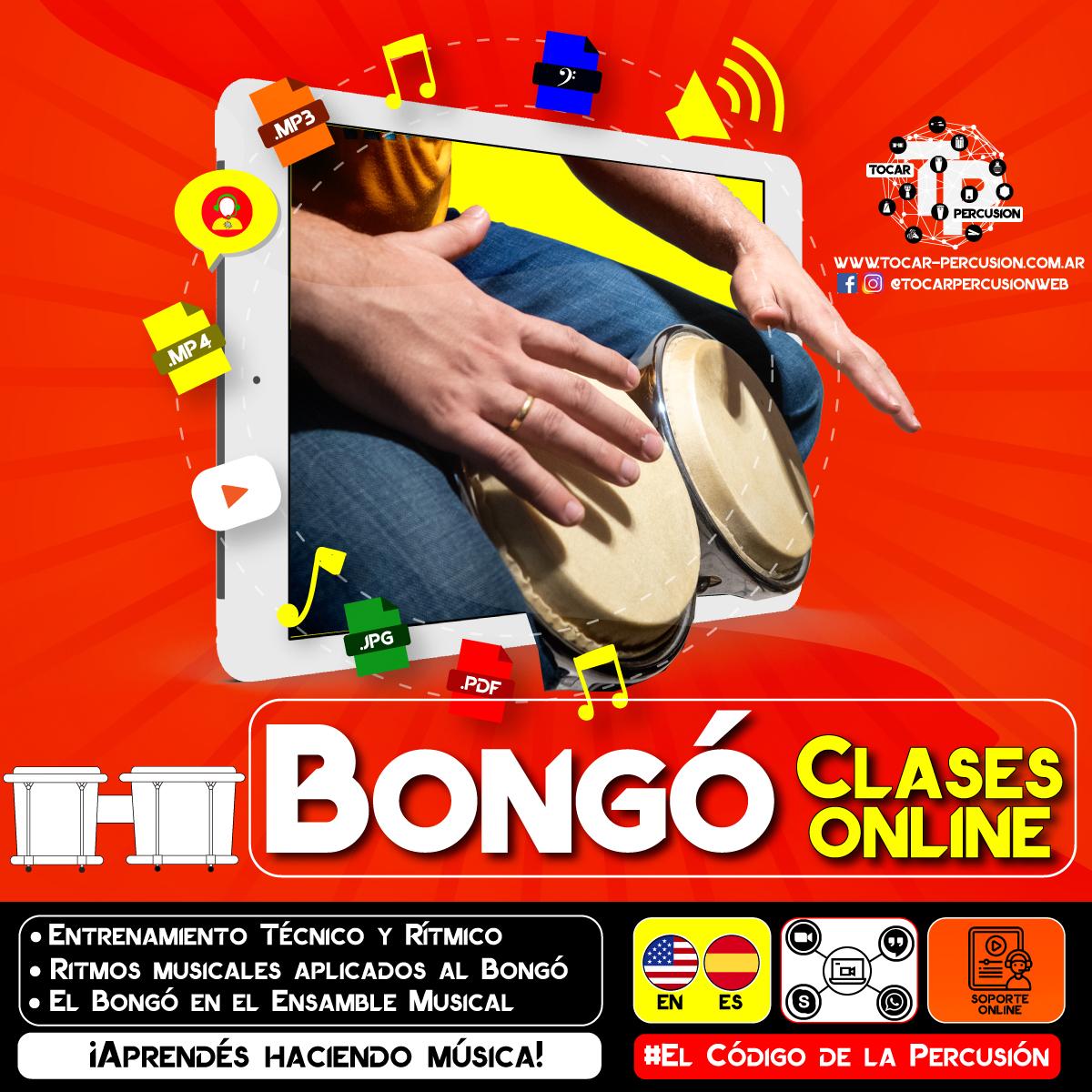 Clases Online de Bongó