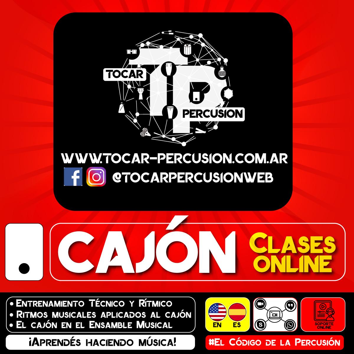 Clases Online de Cajón Peruano