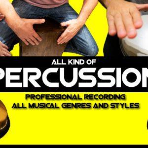Fiverr-Percussion